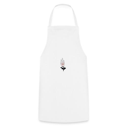 rose enflammée - Tablier de cuisine