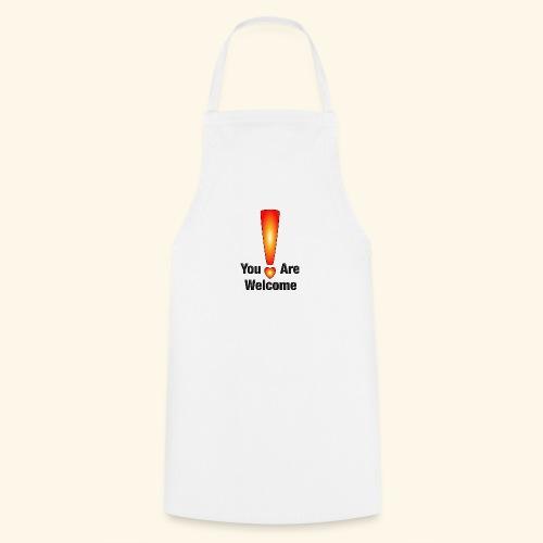 You are welcome1 - Kochschürze