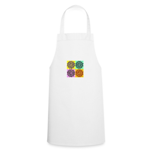Pop Art Mandala - Cooking Apron