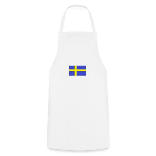 sverigeflaggahemmagjord png - Cooking Apron