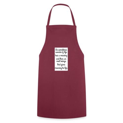 Phrase d'amour en anglais - Tablier de cuisine