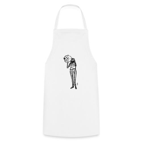 Point de vue en noir et blanc - Grembiule da cucina