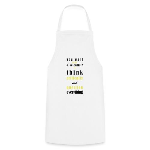 Think Critically - Fartuch kuchenny
