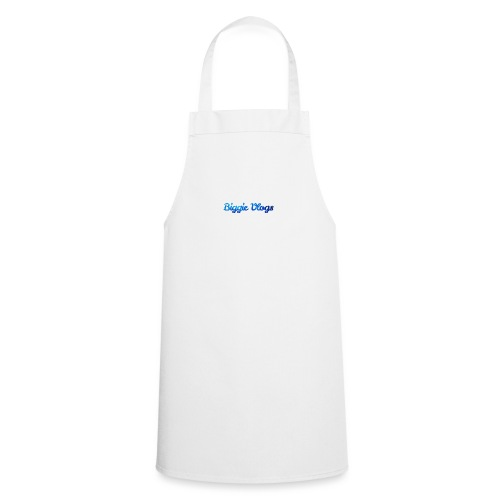 blue BiggieVLogs Kids tshirt - Cooking Apron
