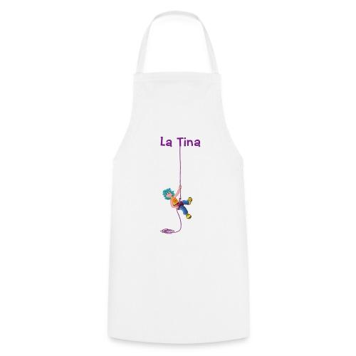 La Tina rapelant - Delantal de cocina