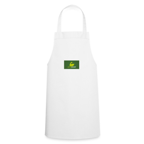 Green Power fitness logo - Cooking Apron