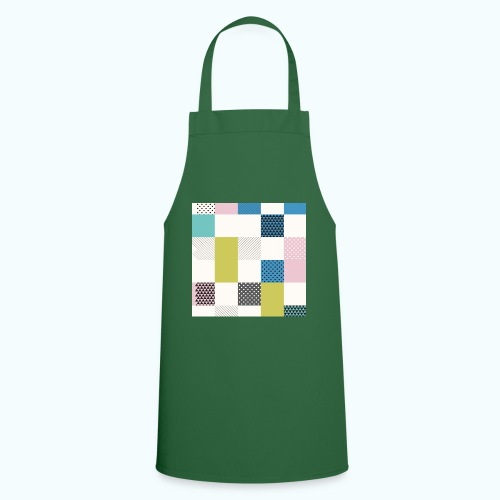 Abstract art squares - Cooking Apron