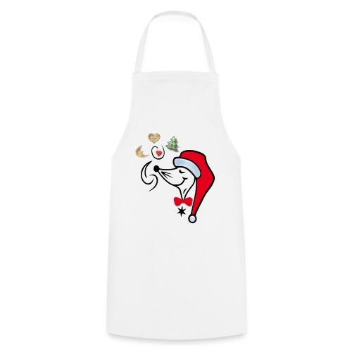 Weihnachtsbäcker mit Weihnachtsplätzchen - Kochschürze