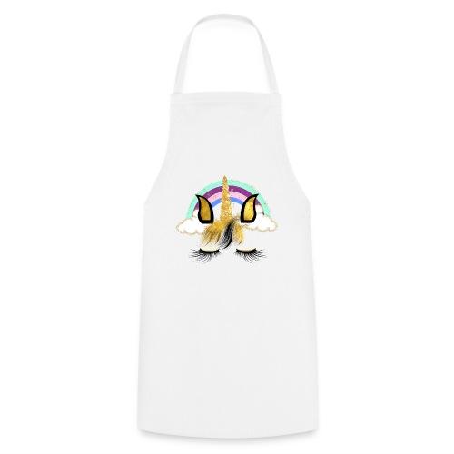 UNICORN FACE 1 8 - Kochschürze