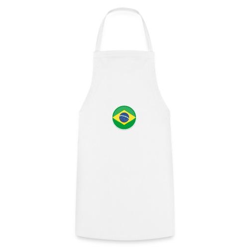 Bandeira do brasil Encontro - Cooking Apron