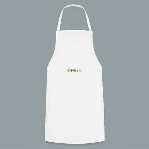 Bitcoin Logo #BTC - Delantal de cocina