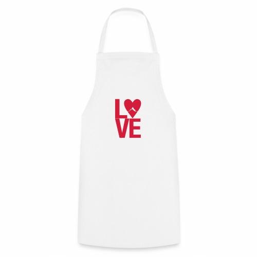 Mountain Love - Kochschürze