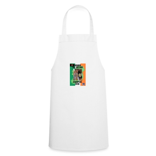 ANT THE CHAMP with 2018 winning belt - Cooking Apron