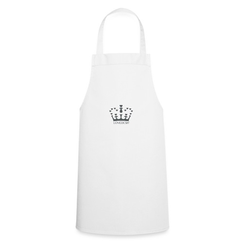 LD crown logo hearts png - Cooking Apron