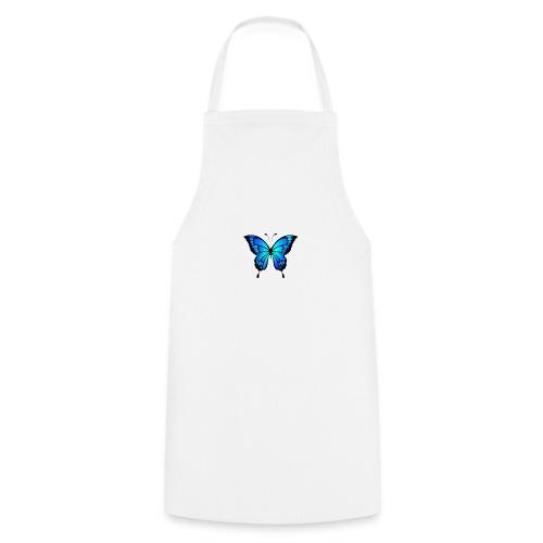 Blå fjäril - Förkläde