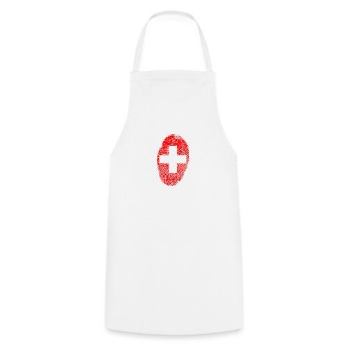 T-shirt imprimé drapeau suisse - Tablier de cuisine