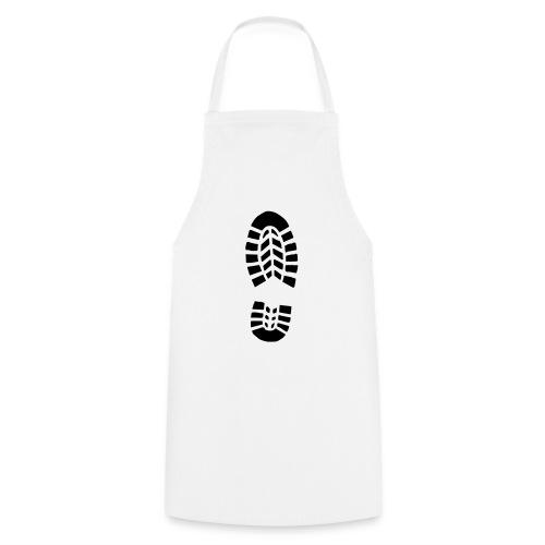 Fußabdruck - Kochschürze