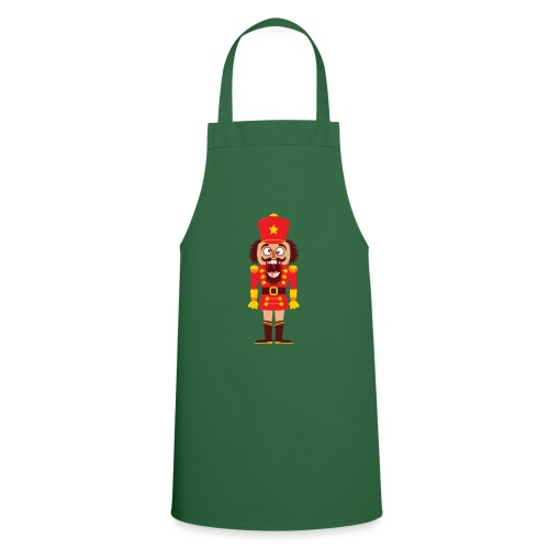 A Christmas nutcracker is a tooth cracker - Cooking Apron