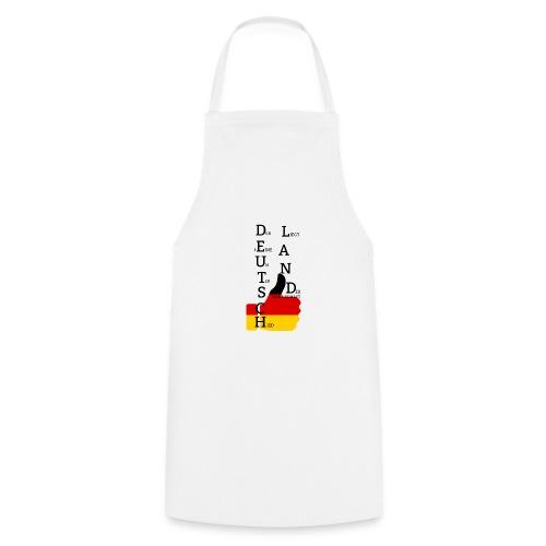 Deutsche Flagge mit Daumen 2 (Exklusives Design) - Kochschürze
