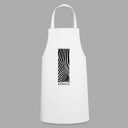zebras - Cooking Apron