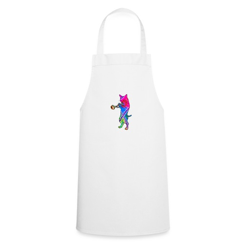 Jazz Cat plays the Trumpet - Cooking Apron