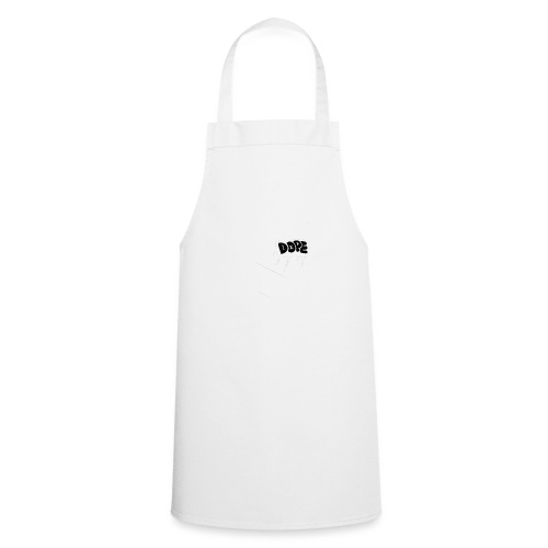 DOPE bubble letters - Cooking Apron