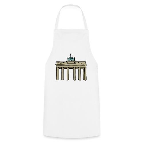 Brama Brandenburska BERLIN c - Fartuch kuchenny