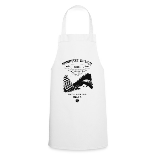 Skull industrial gear - Cooking Apron