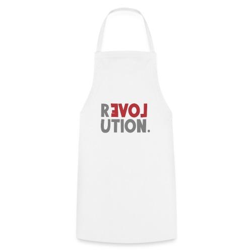 Revolution Love Sprüche Statement be different - Kochschürze