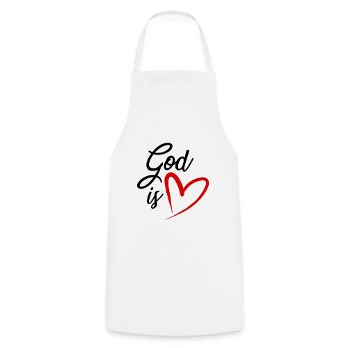 God is love 2N - Grembiule da cucina