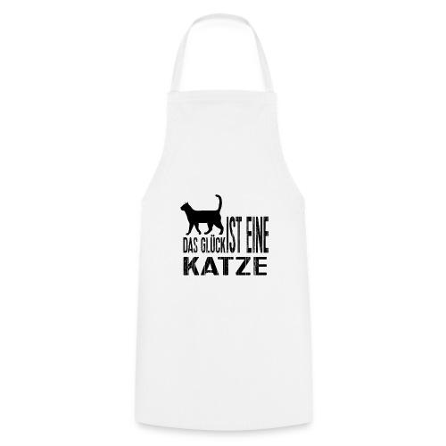 Katze Katzenliebe Cat Katzenglück Geschenkidee - Kochschürze