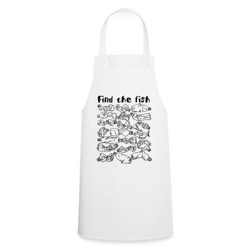 ECO ocean plastic bottles pollution find the fish - Cooking Apron