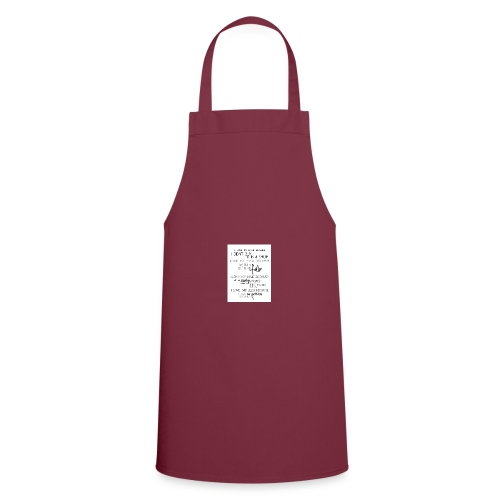 I LOVE MY HAIR - Cooking Apron