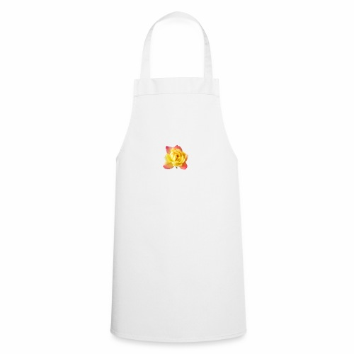 yellow rose - Cooking Apron