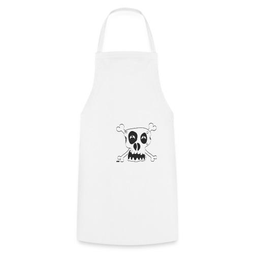 Skull - Kochschürze