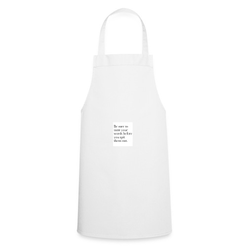 new life quotes - Cooking Apron