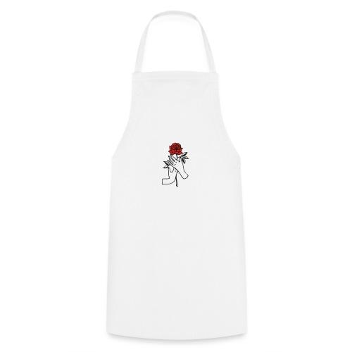 Fiore rosso - Grembiule da cucina