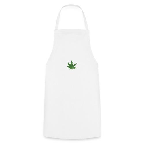 sticker feuille de cannabis - Tablier de cuisine