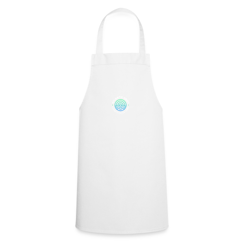 Atlantic Drift Logo (White) - Cooking Apron