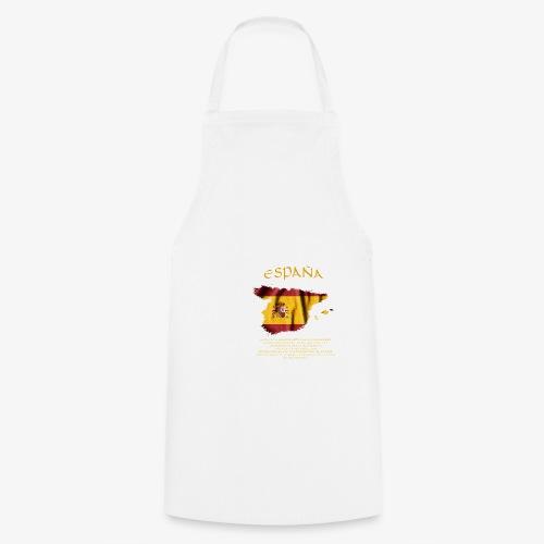 Spanische Flagge - Kochschürze