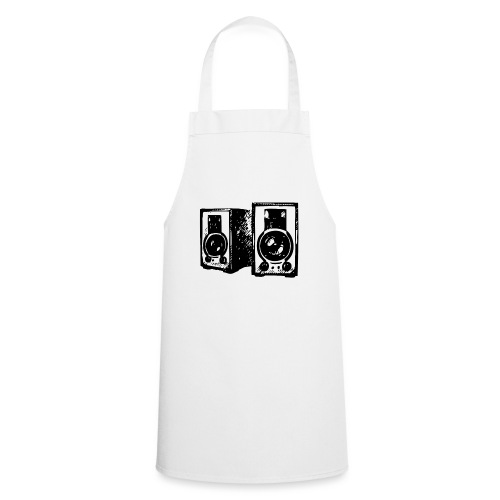 DJ Symbol Musik Musiker Musikboxen - Kochschürze