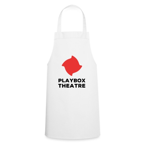 Red Playbox Logo Stacked - Cooking Apron