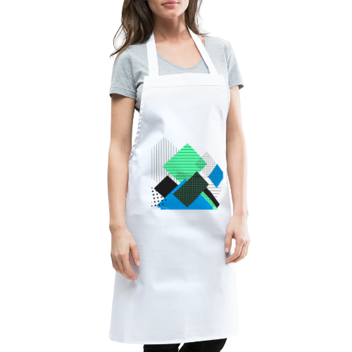 Abstract rectangles pastel - Cooking Apron