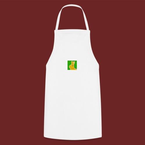 Konijn met groene achtergrond - Keukenschort