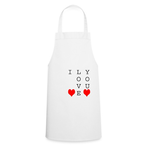 I Love You - Cooking Apron