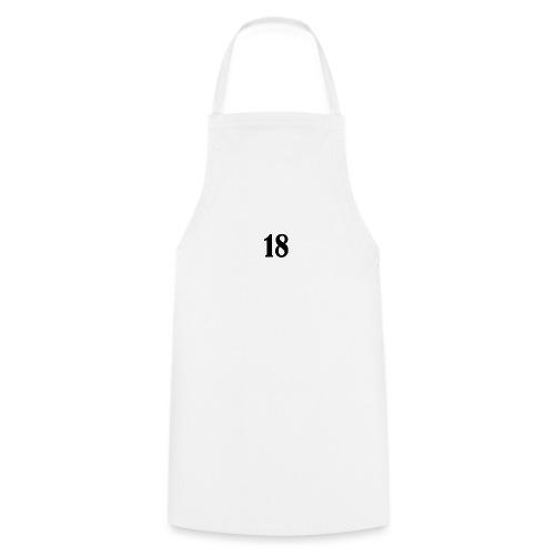 18 logo t shirt - Cooking Apron