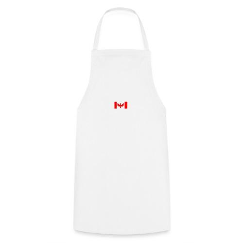 pixel canada flag - Cooking Apron