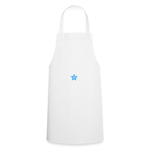 blue themed christmas star 0515 1012 0322 4634 SMU - Cooking Apron