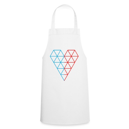 The Heart of Life x 1, Dual Polygon. - Cooking Apron