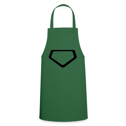 Baseball Homeplate Outline - Cooking Apron